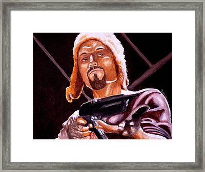 Shiny Lets Be Bad Guys Framed Print by Al  Molina