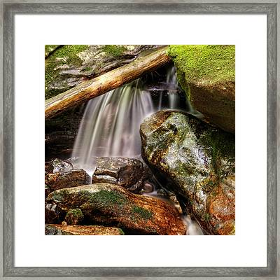 Shiny Rocks Framed Print