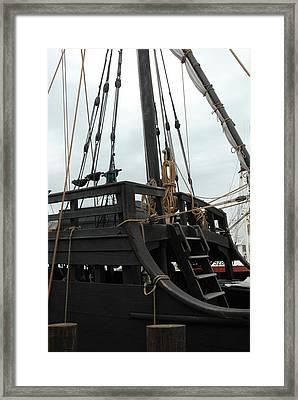 Ship 10 Framed Print by Joyce StJames