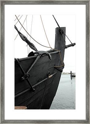 Ship 8 Framed Print by Joyce StJames