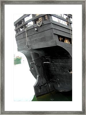 Ship 9 Framed Print by Joyce StJames