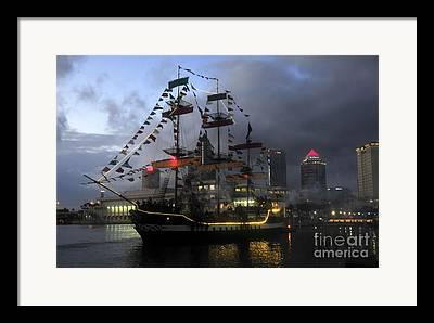 Tampa Bay Florida Framed Prints