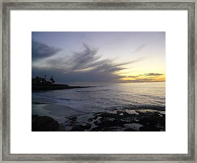 Ship In The Clouds Framed Print