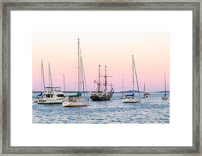 Ship Out Of Time Framed Print