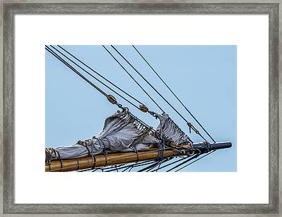 Ship Rigging Framed Print by Paul Freidlund