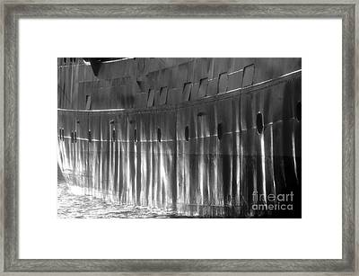 Ship Side Framed Print