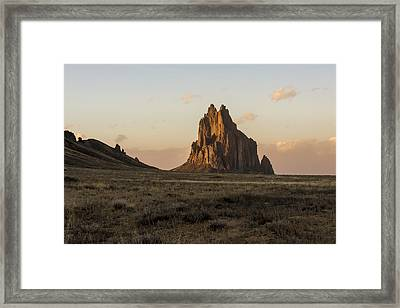 Shiprock 2 - North West New Mexico Framed Print