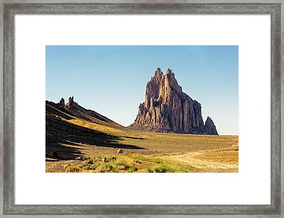 Shiprock 3 - North West New Mexico Framed Print