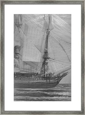 Ships And Sea Exploration Framed Print