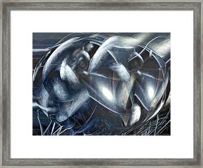 Ships Of Orion Framed Print