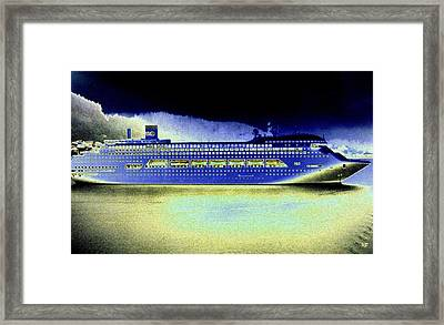 Shipshape 7 Framed Print by Will Borden