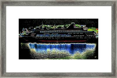 Shipshape 8 Framed Print by Will Borden