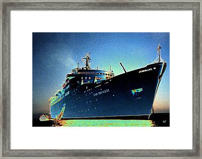 Shipshape 9 Framed Print by Will Borden