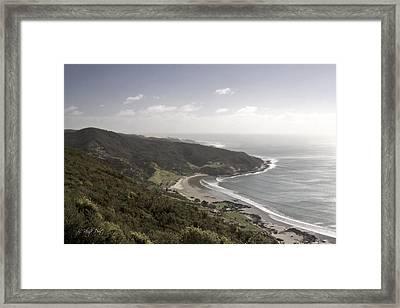 Shipwreck Bay Framed Print by Graham Hughes
