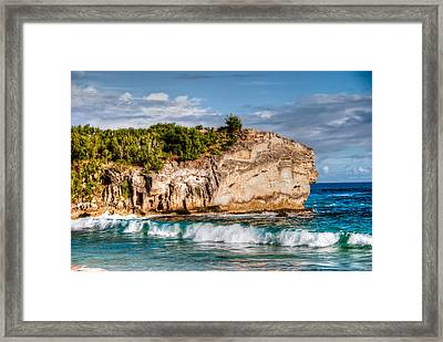 Shipwreck Beach Framed Print