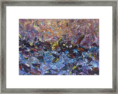 Shipwreck Framed Print by James W Johnson