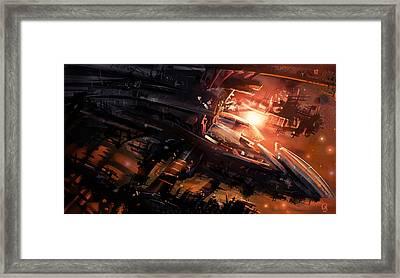 Shipwreck Framed Print by Odysseas Stamoglou