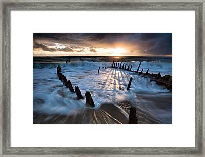 Shipwrecked Framed Print by Mel Brackstone