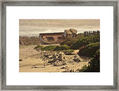 Shipwrecked Framed Print by Patrick Kain