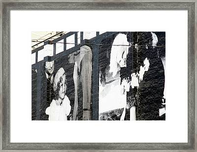 Shirley And Mae Framed Print