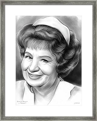 Shirley Booth Framed Print