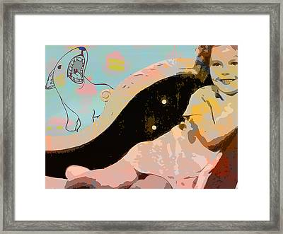 Shirley Pop Framed Print