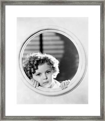 Shirley Temple (1928-2014) Framed Print by Granger