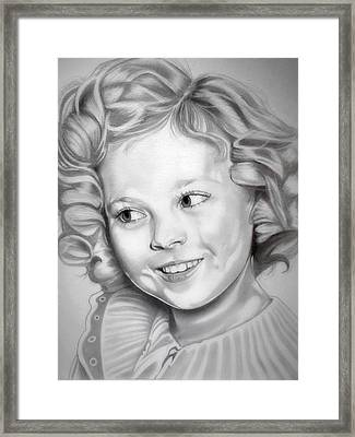 Shirley Temple Framed Print by Fred Larucci
