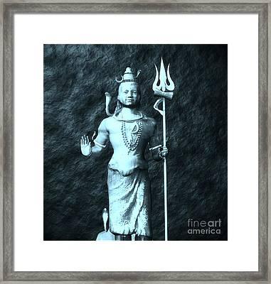 Shiva By Sarah Kirk Framed Print by Sarah Kirk