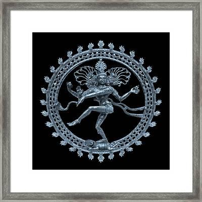 Shiva - Nataraja- Cosmic Dancer Framed Print by Svahha Devi