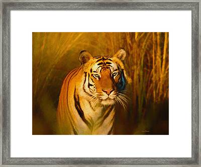 Shiva - Painting Framed Print