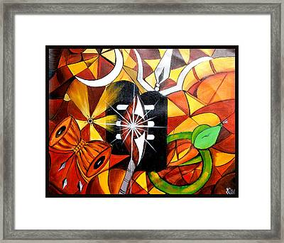 Shiva Framed Print by Rajni A
