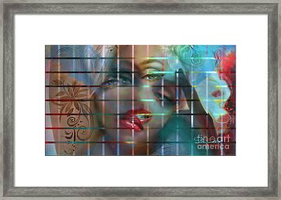 Shizo 1 Framed Print