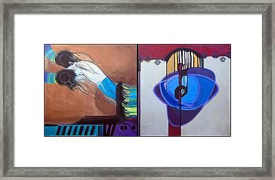 Sh'ma And V'ahavtah Framed Print