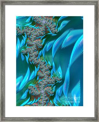 Shoal Framed Print by John Edwards