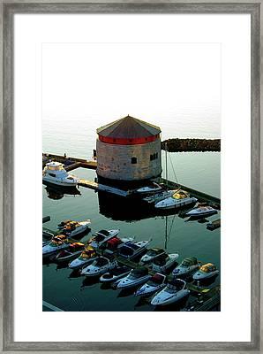 Shoal Tower Framed Print