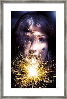 Shocked Framed Print by Jorgo Photography - Wall Art Gallery