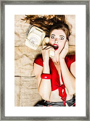Shocking News Framed Print by Jorgo Photography - Wall Art Gallery