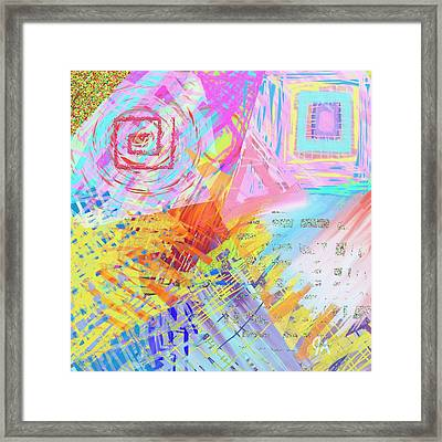 Shockwave Framed Print