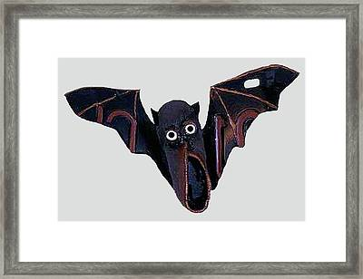 Shoe Bat Framed Print by Bill Thomson