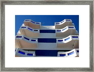 Shoe Flats Framed Print by Jez C Self