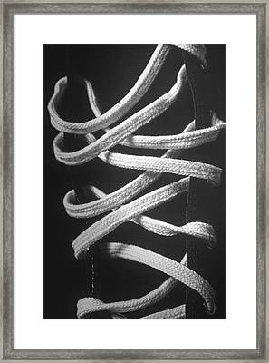 Shoe Laces Framed Print