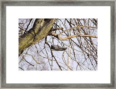 Shoefiti 19061 Framed Print