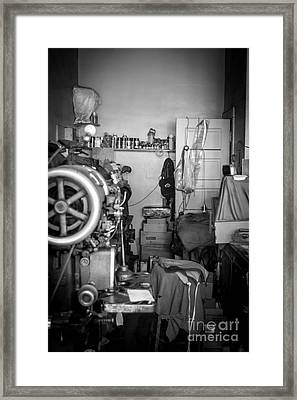Shoemaker Framed Print