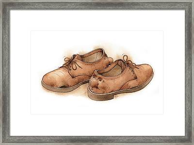 Shoes02 Framed Print by Kestutis Kasparavicius