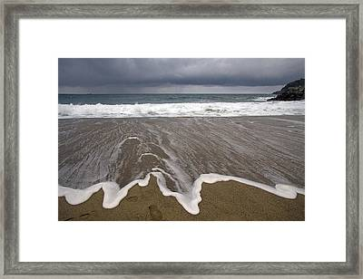 Sea Framed Print by Roger Turley