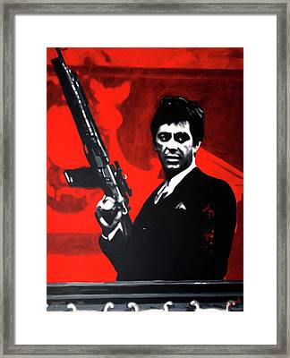 Shoot Out Framed Print