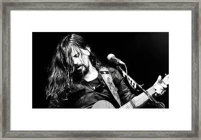 Shooter Jennings - Rebel Framed Print