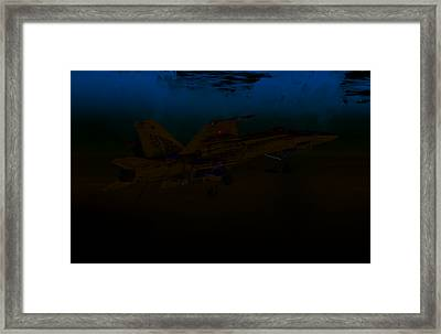 Shooting Pinkies Framed Print