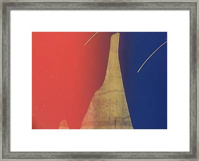 Shooting Star Framed Print by Gary Kaemmer